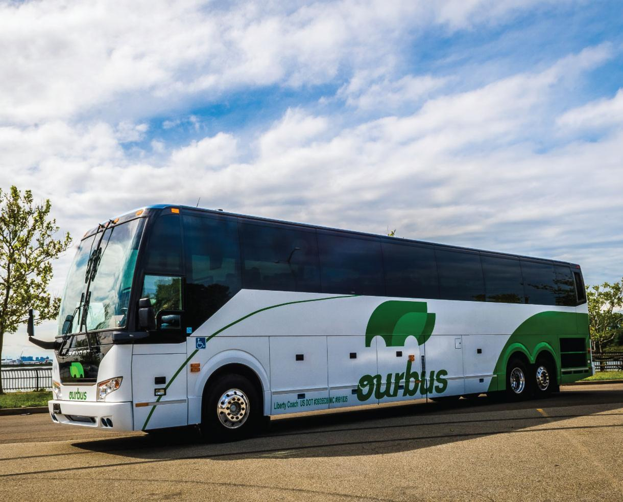 Weekday Roundtrip Bus Fare between Washington, DC and New York City on OurBus