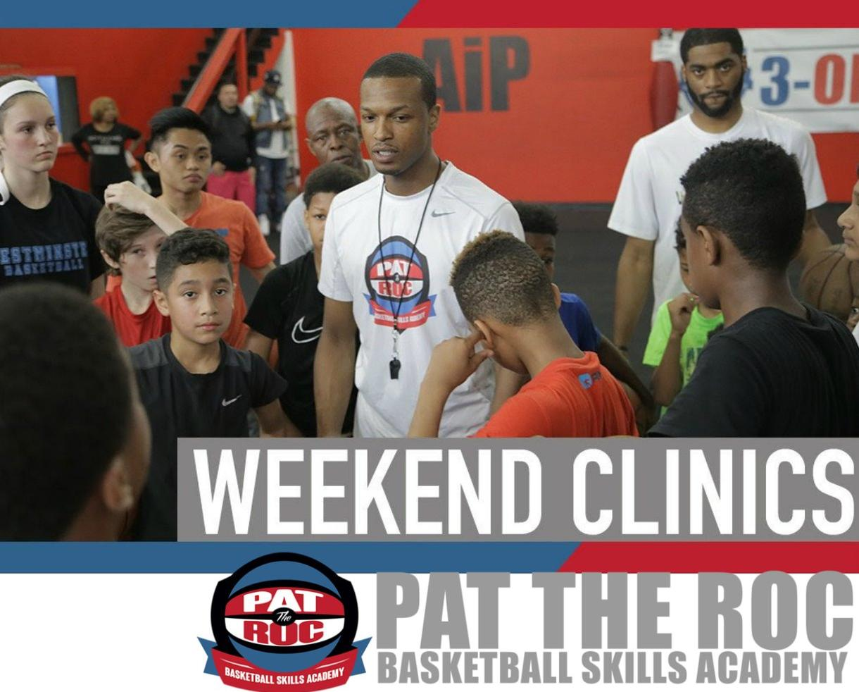 Pat the Roc Basketball Skills Academy Drop-In Clinics