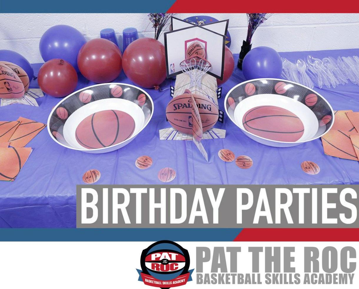 Pat the Roc Basketball Skills Academy Birthday Party
