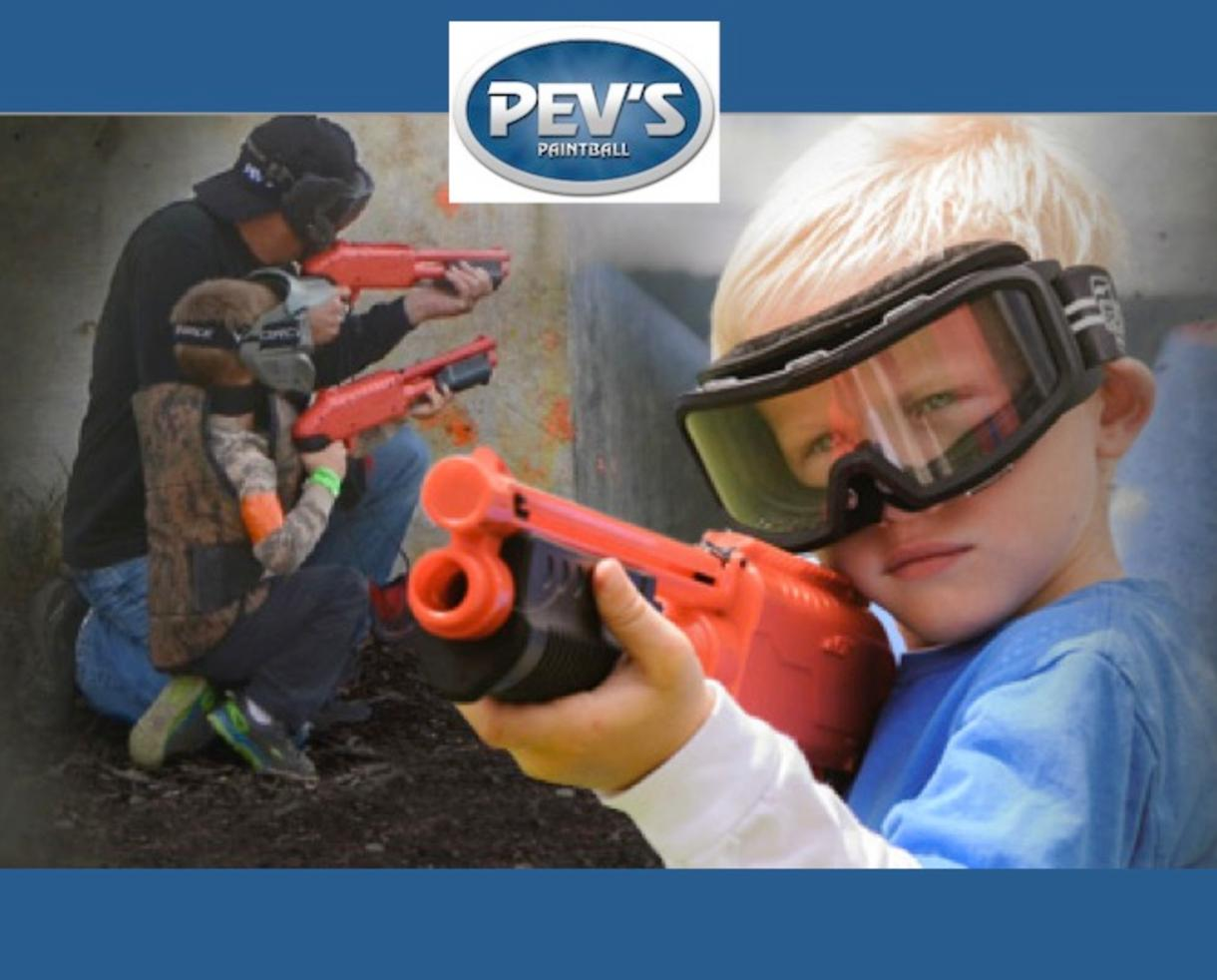 """$99 for Pev's """"PeeWee"""" Paintball Party for Up to 10 Kids Ages 6 to 9 - Aldie, VA (53% Off - $210 Value)"""