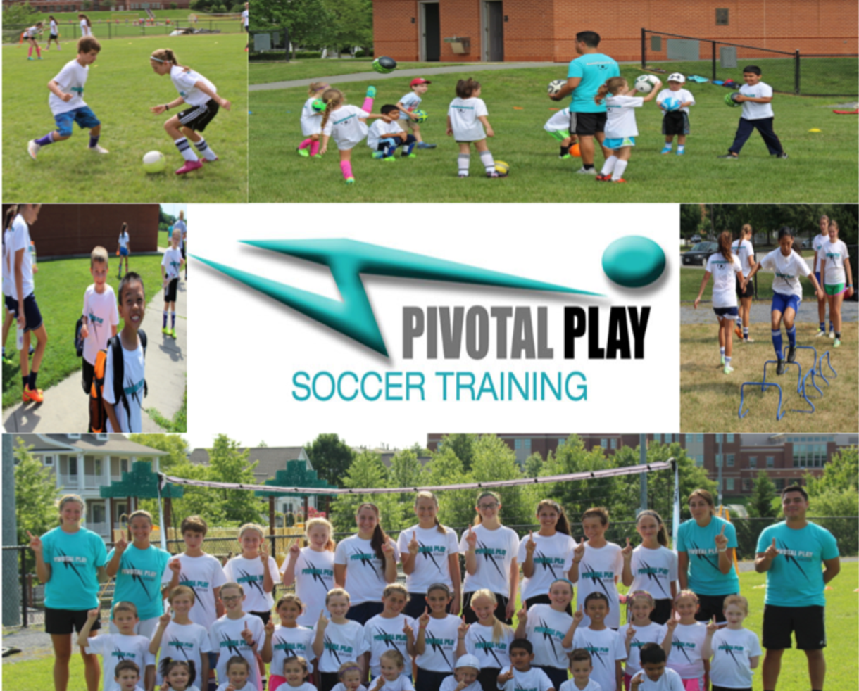 $98+ for Pivotal Play Soccer Training Winter Indoor Soccer Clinic for Grades 4-12 Bethesda, Potomac or Rockville (35% Off)