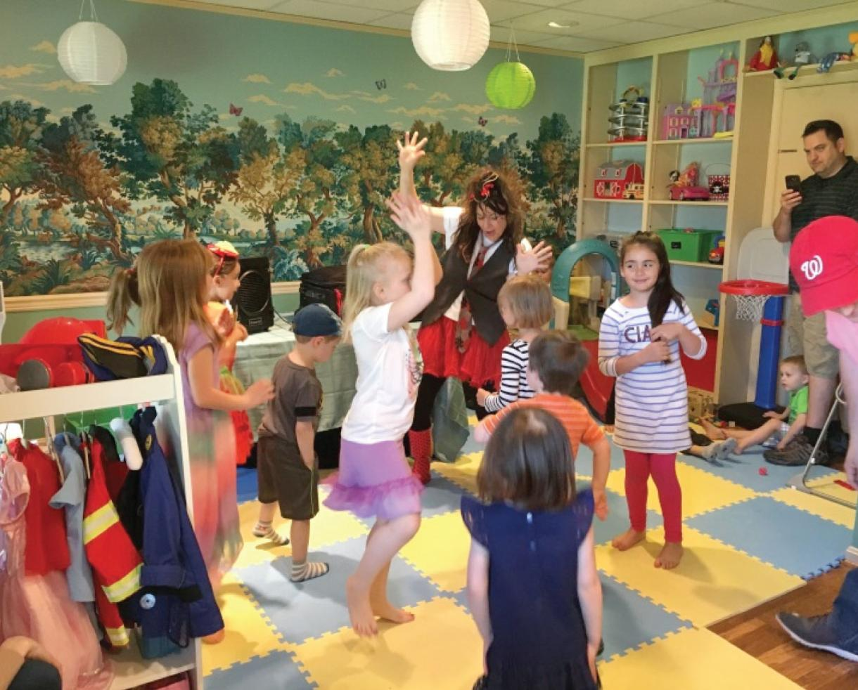 $150 for Themed Birthday Party for Up to 14 Kids Ages 0-5 at Play, Work or Dash near Tysons! ($250 Value - 40% Off)