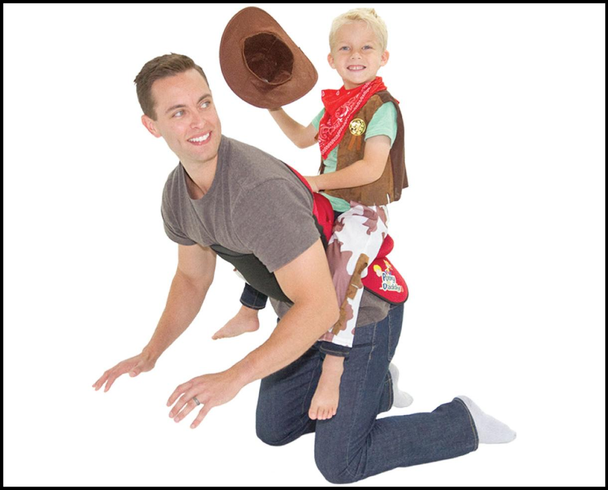 50% Off a Second Saddle with the Purchase of Any Pony Up Daddy Saddle - The TODAY Show Gift of the Year!