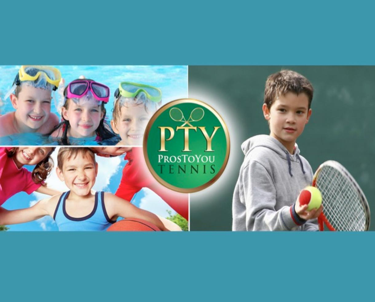 $280 for Pros To You Tennis Camp for Ages 5-14 at Seven Locks Swim & Tennis Club in Bethesda or Tallyho Swim and Tennis Club in Potomac ($350 Value - 20% Off)