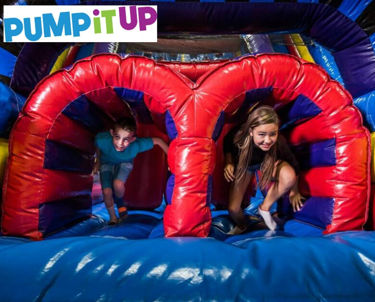 BRAND NEW Pump It Up Open Jump Passes