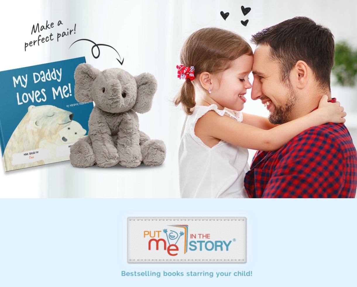 20% Off ALL Father's Day Personalized Books & Gift Sets by Put Me In The Story