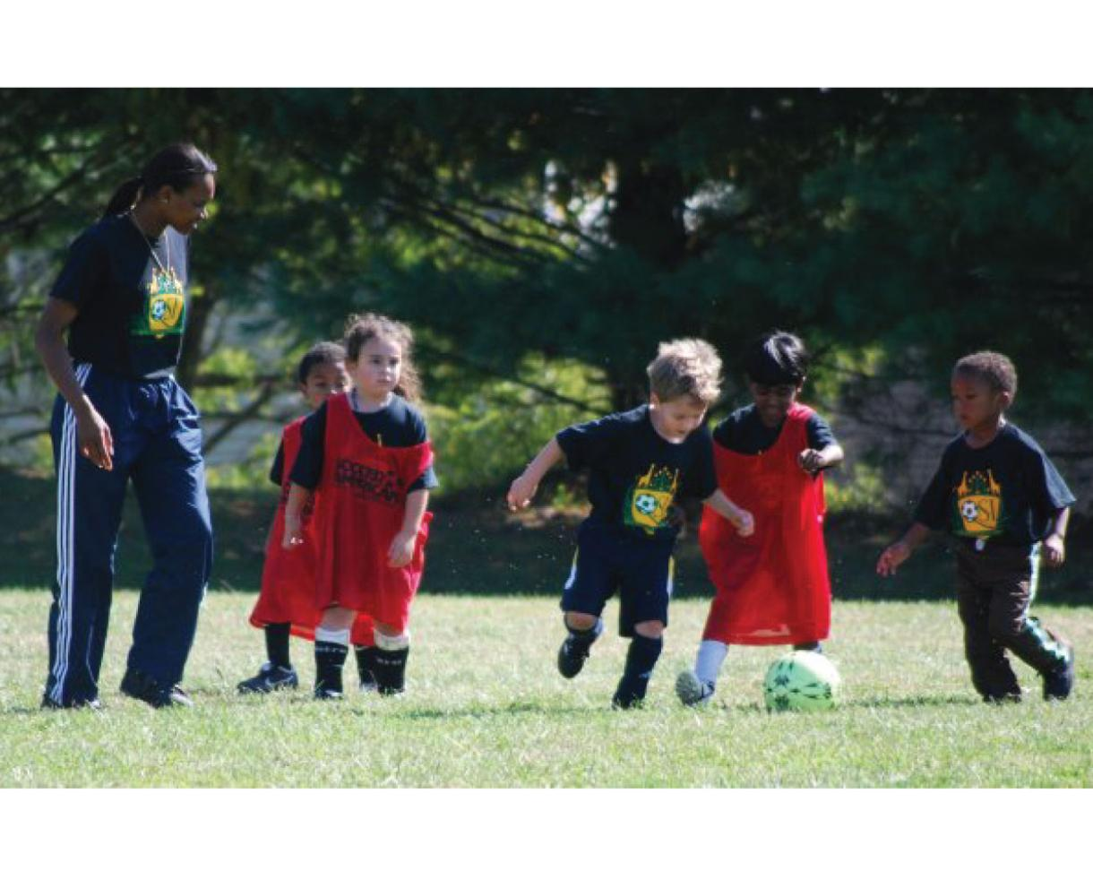 $82 for Quickfeet SUMMER Soccer Sessions for Ages 2-6 - MD, DC & VA Locations! ($125 Value - 35% Off)