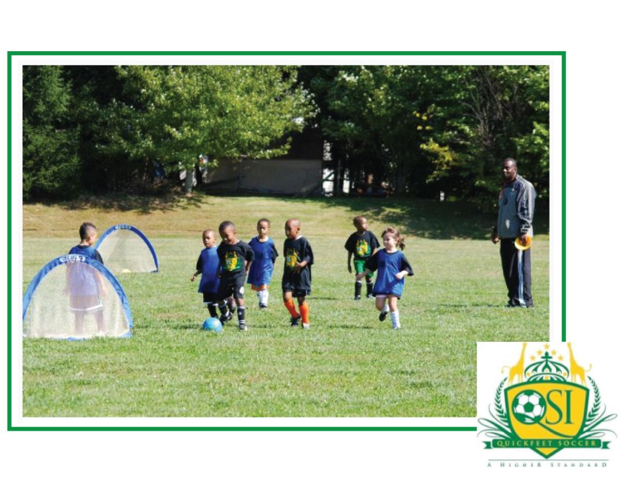 $91 for 7 Quickfeet FALL Soccer Sessions for Ages 2-6 - MD, DC & VA Locations! ($139 Value - 35% Off)