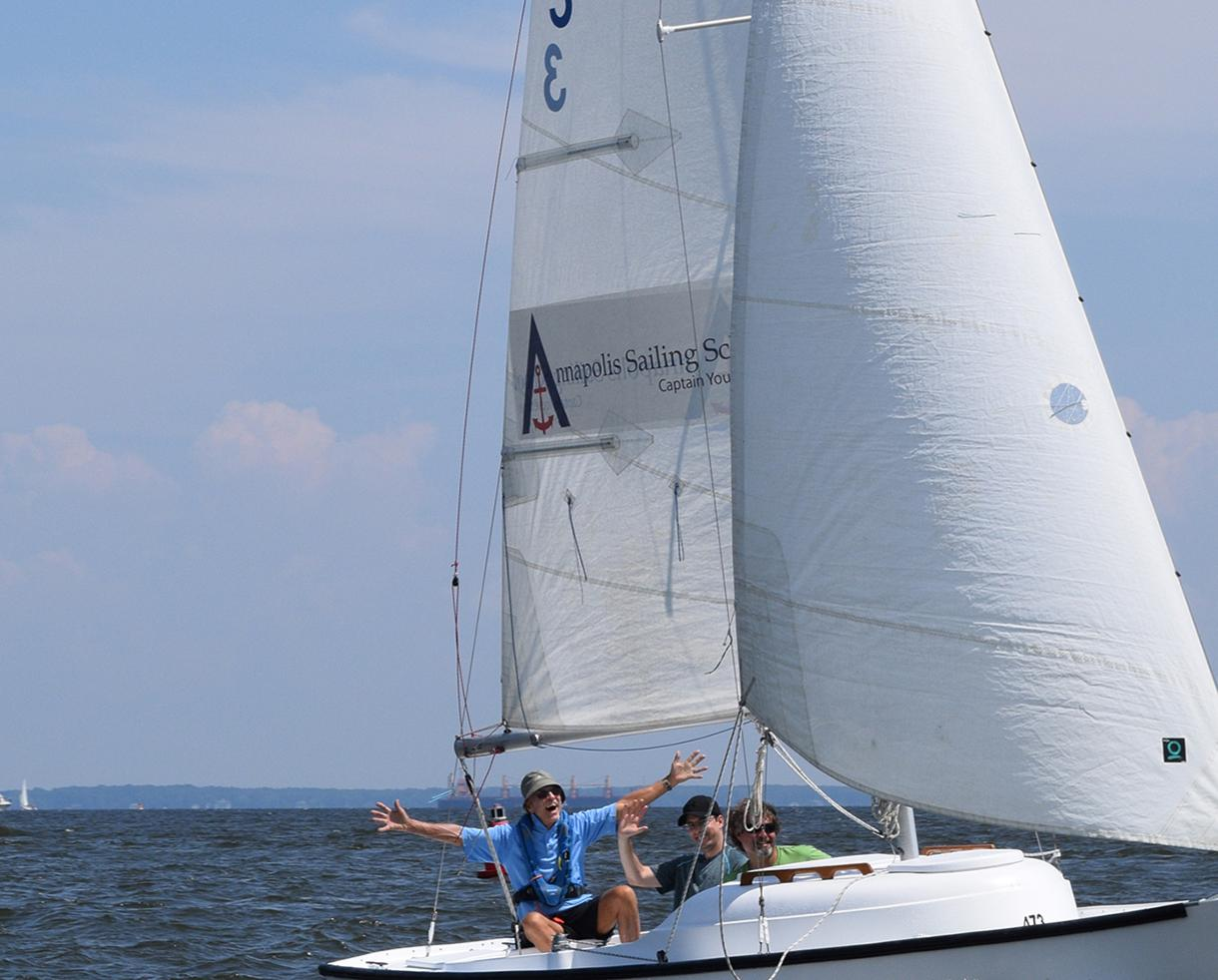 Deal: 2-Hour TrySail Group Sailing Lesson at Annapolis