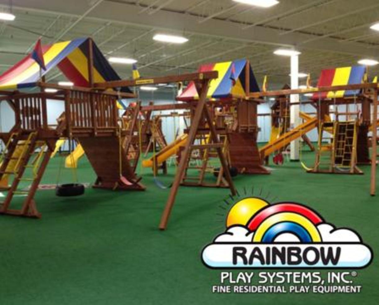 Deal 210 For Birthday Party At Rainbow Play Systems Indoor