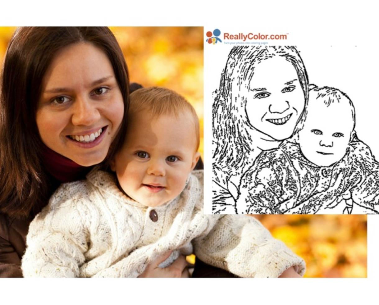 Turn Your Photos Into Coloring Pages at ReallyColorcom 5 for