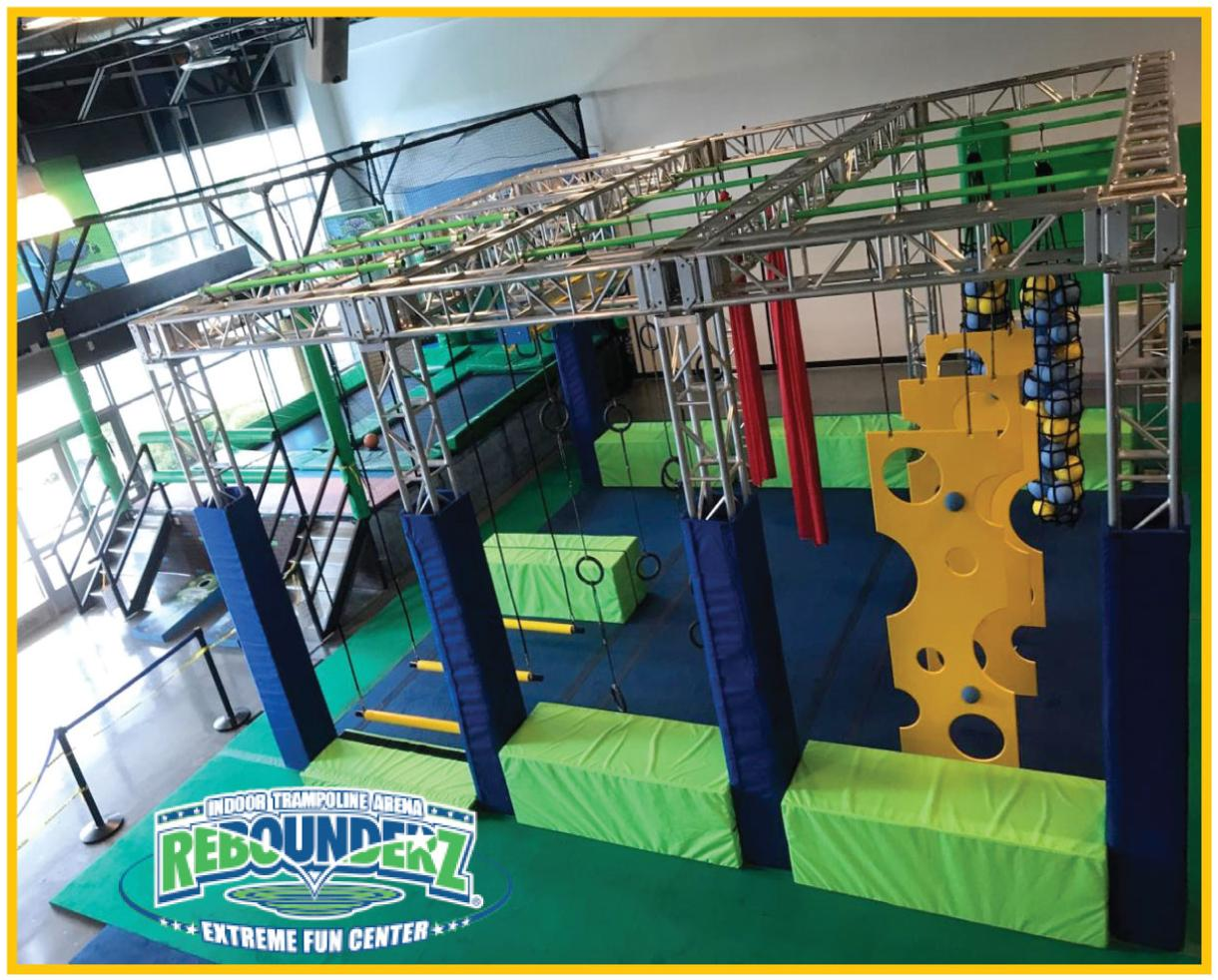 $25 for All-Day Weekday Unlimited Jump Pass and NEW Ninja Warrior Course at Rebounderz in Sterling (32% Off)