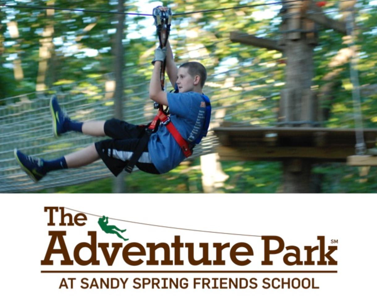 $45 for Weekday Tickets to the Aerial Adventure Forest at The Adventure Park at Sandy Spring (25% Off)