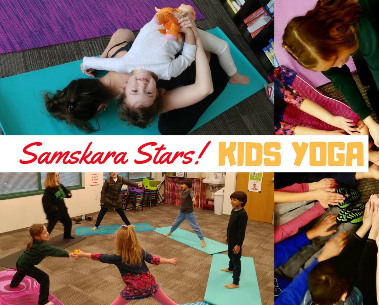 Unlimited Samskara Stars! Kids Yoga Classes