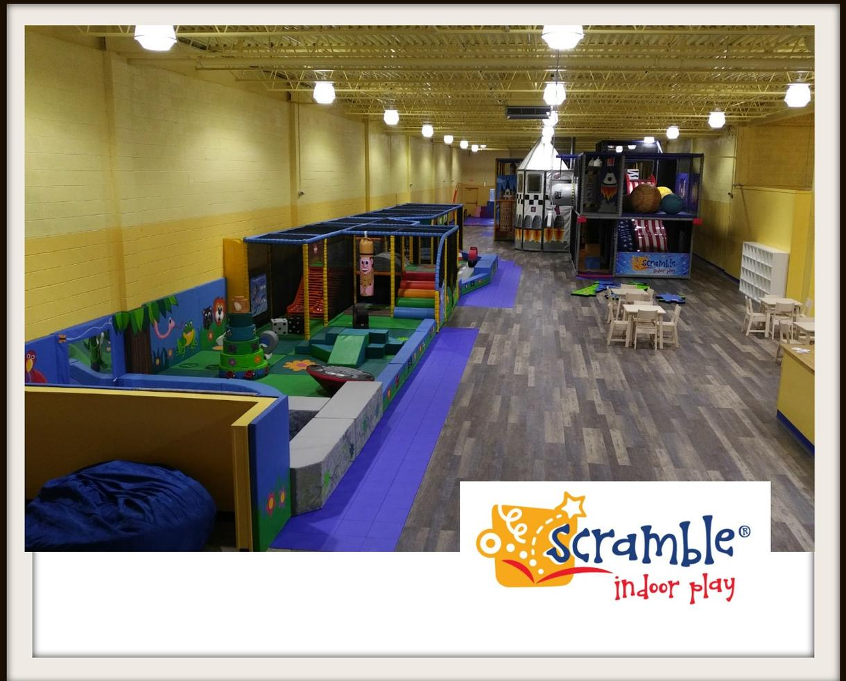 One Day of Scramble Indoor Play Camp
