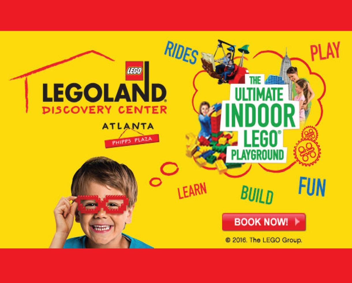 $12 for Legoland Discovery Center Atlanta Admission ($21.55 Value - 45% Off)