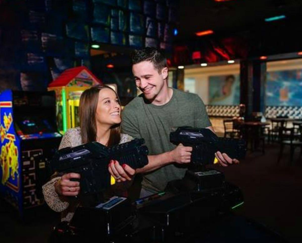 $11 for Two Rounds of Glow Mini-Golf at Shadowland - VALID ANY DAY - Alexandria/Springfield Location ONLY (36% Off)