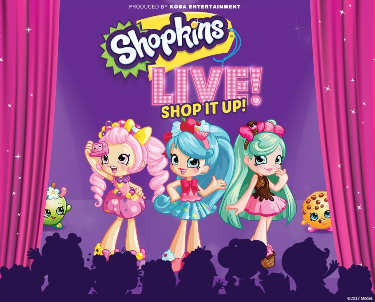 Save 30% off Tickets to Shopkins Live! Shop It Up! November 12th at Paramount Theatre - Oakland