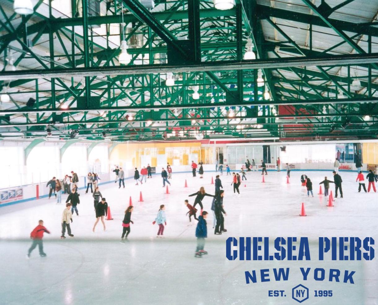 Sky Rink at Chelsea Piers Skating Session + Skate Rental