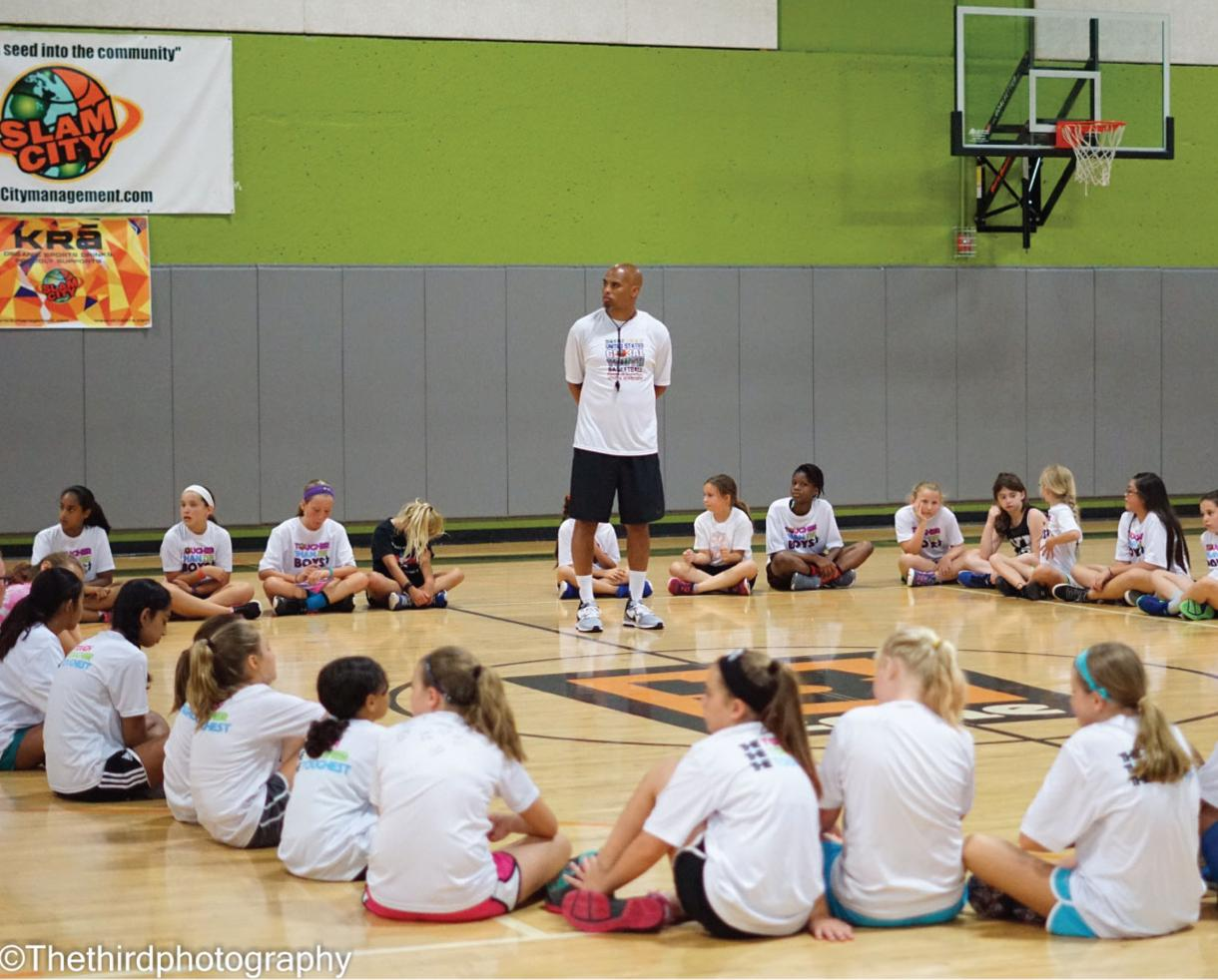 One Week of Slam City Basketball Camp at nZone