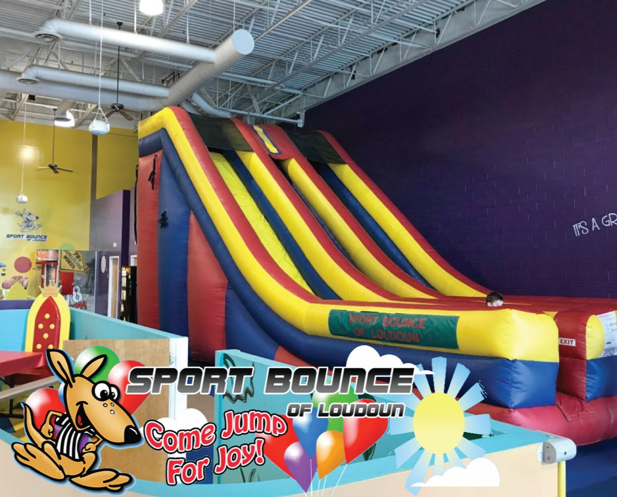 $25 for 5 Open Bounce Passes at Sport Bounce of Loudoun (50% Off)