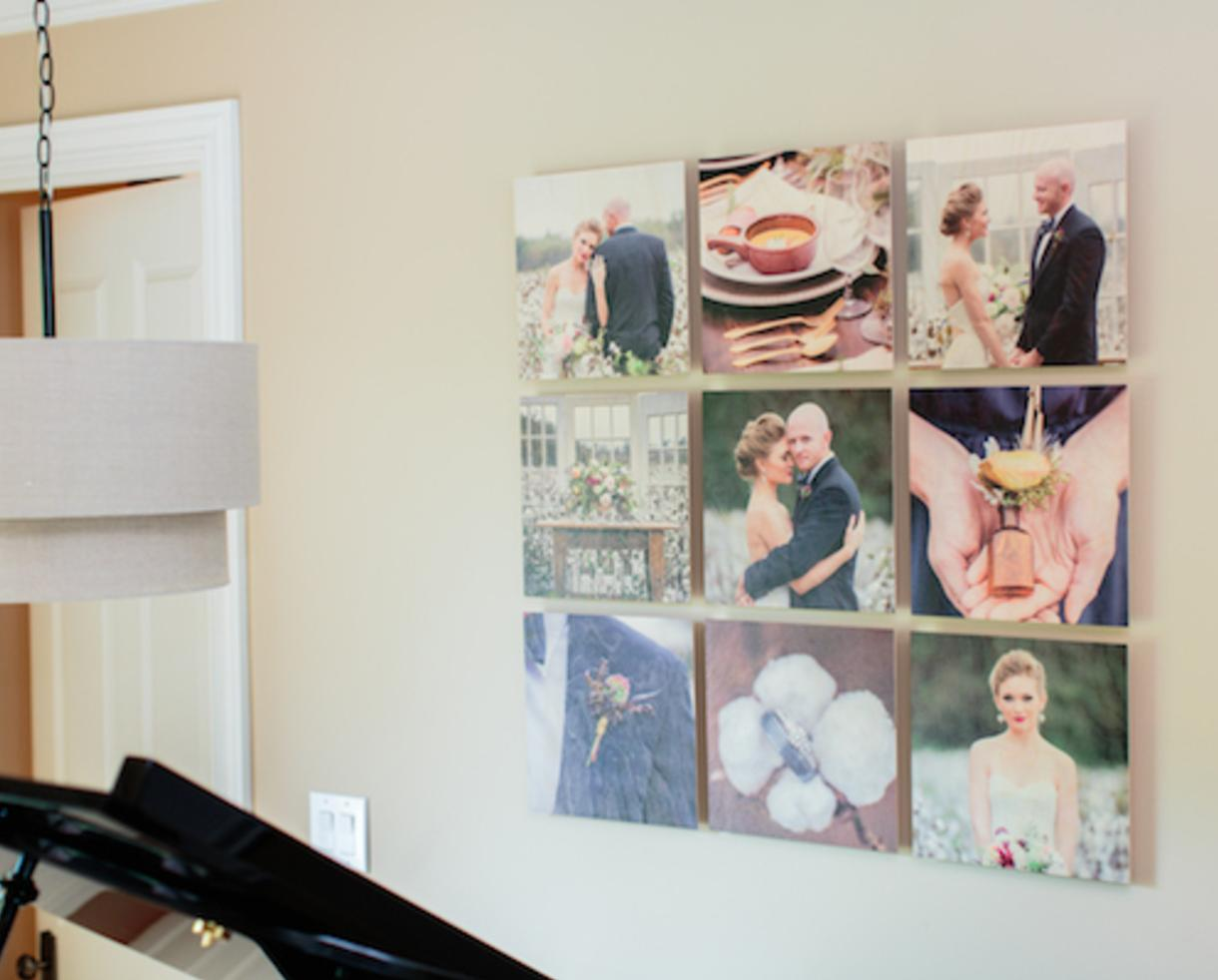 $149 for 9 Piece 12x12 Standout Wood Print Grid from PhotoBarn ($540 Value!)