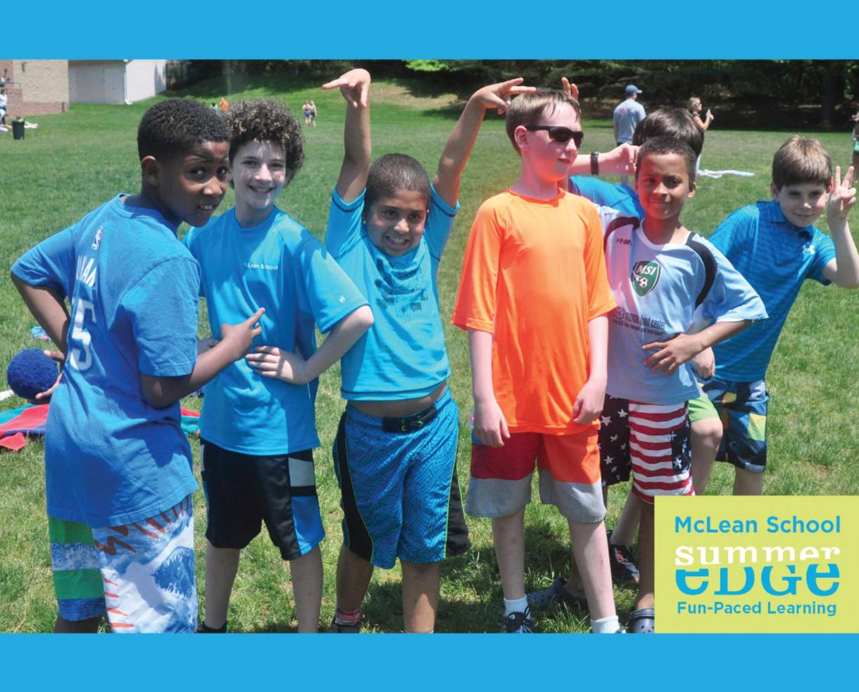 $175 for McLean School's SummerEdge Camp Mustang for 3rd-8th Graders in Potomac (37% Off)