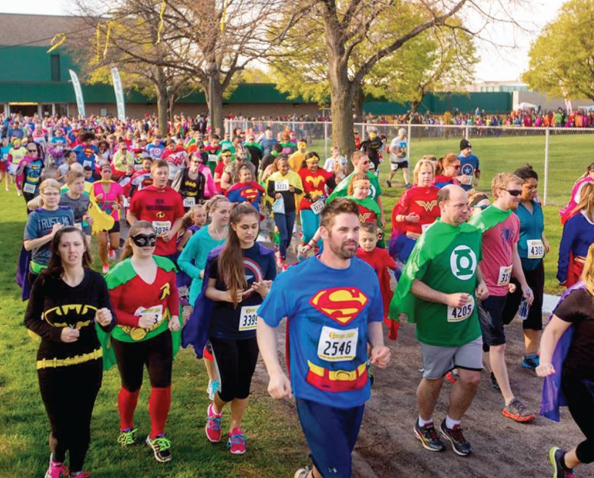 The Super Run Family 5K Race to Support Local Non-Profits