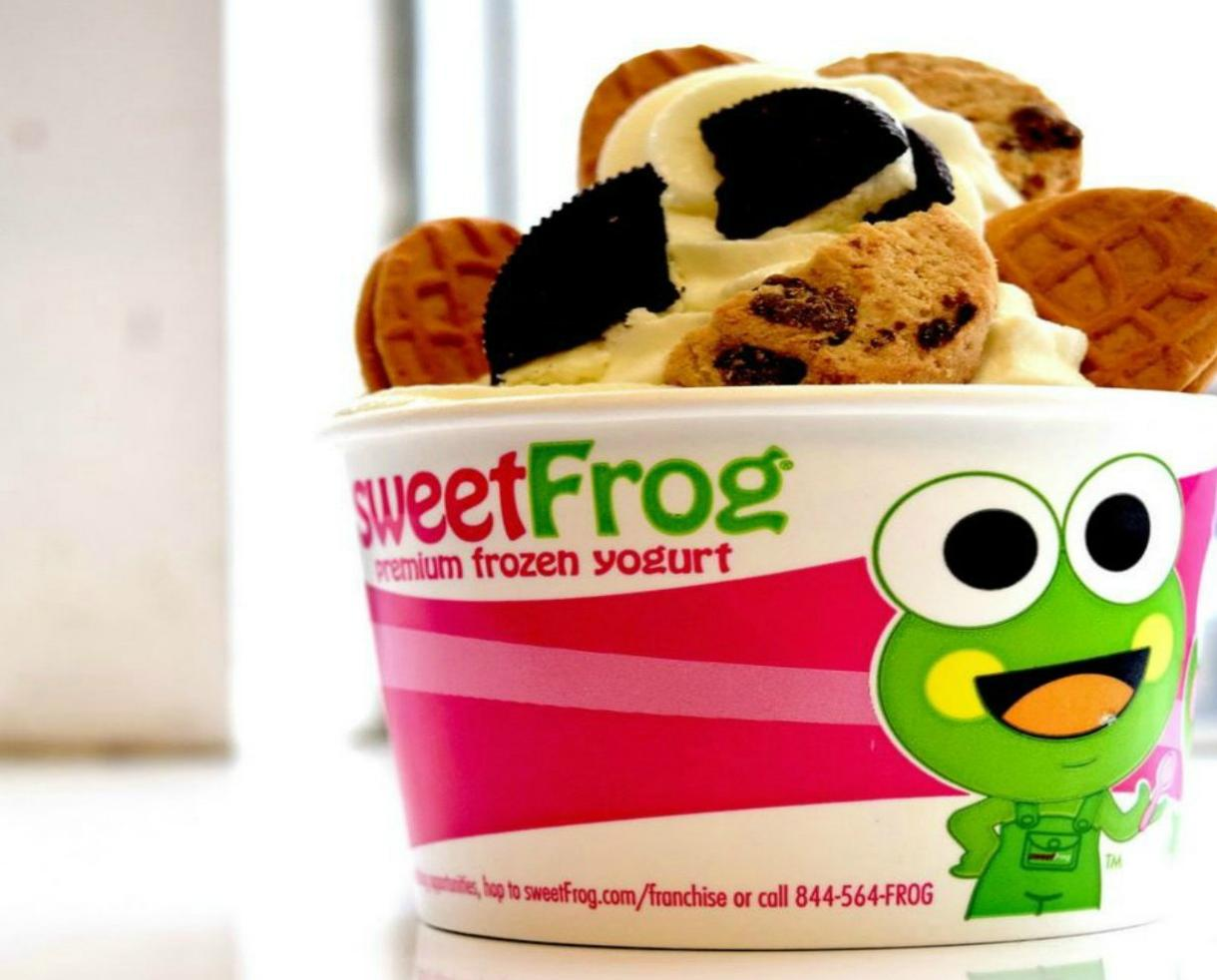 $10 for $20 Worth of Sweet Frog Premium Frozen Yogurt