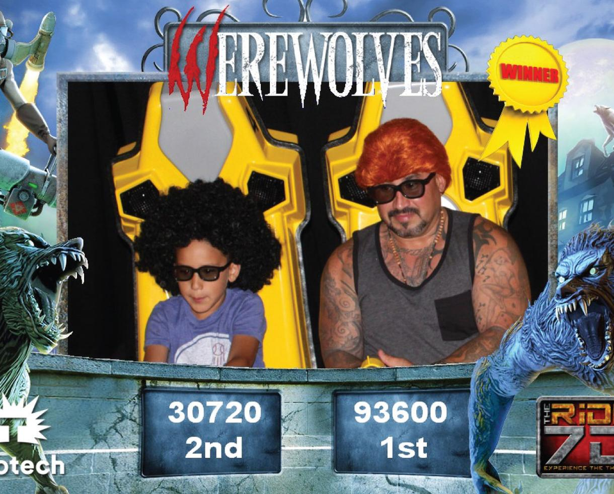 THE RiDE 7D: 3-Virtual Thrill RiDE Package for 2 Riders