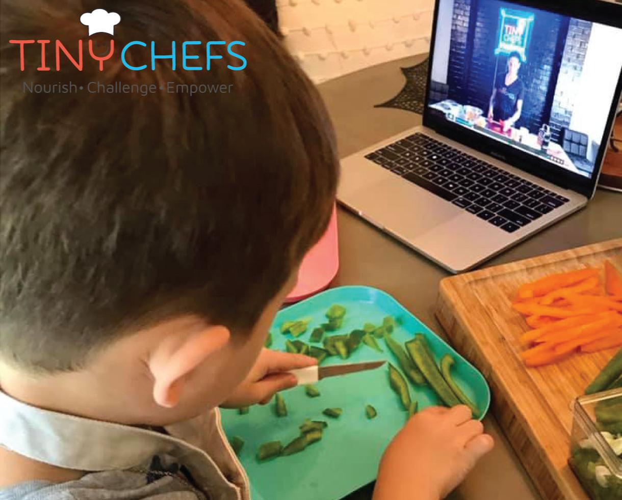 Tiny Chefs Virtual Kids Cooking Classes & Annual Membership