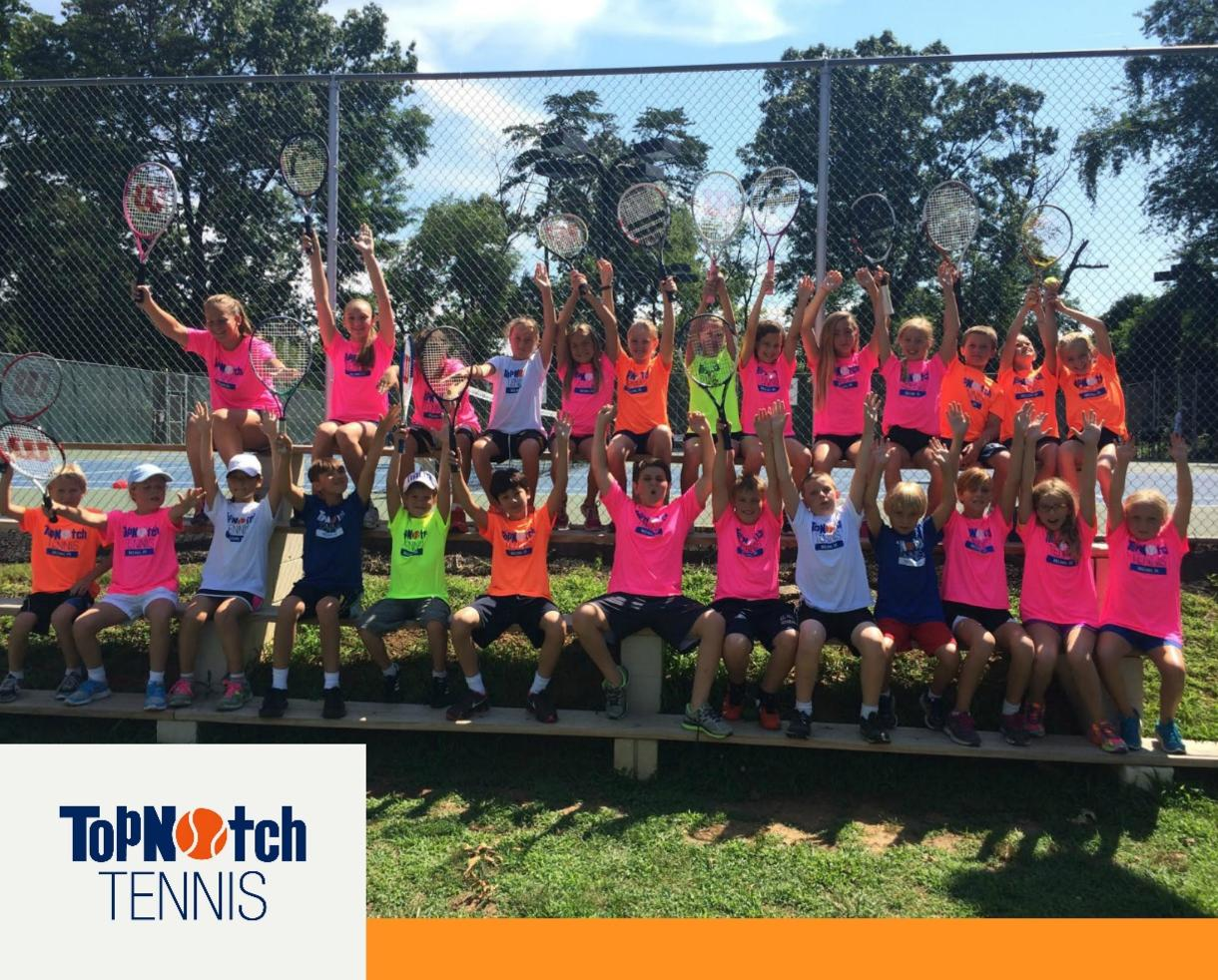 $180 for TopNotch Tennis Camp for Ages 6 - 13 - McLean (Up to $225 Value)