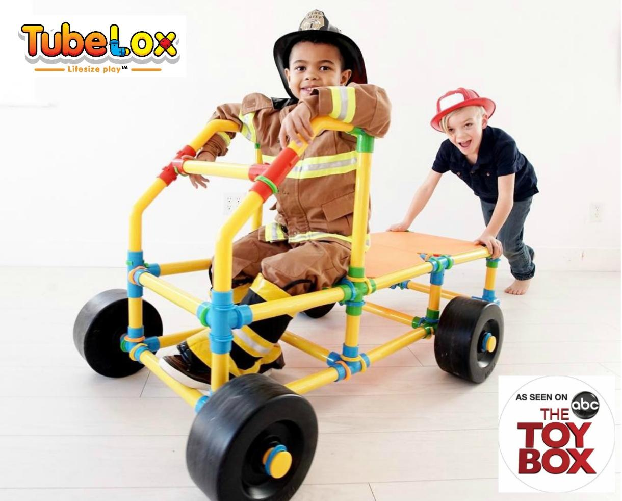 $150 for TubeLox Deluxe Set Shipped - The Award-Winning STEM Toy Seen on The Toy Box! (40% Off)