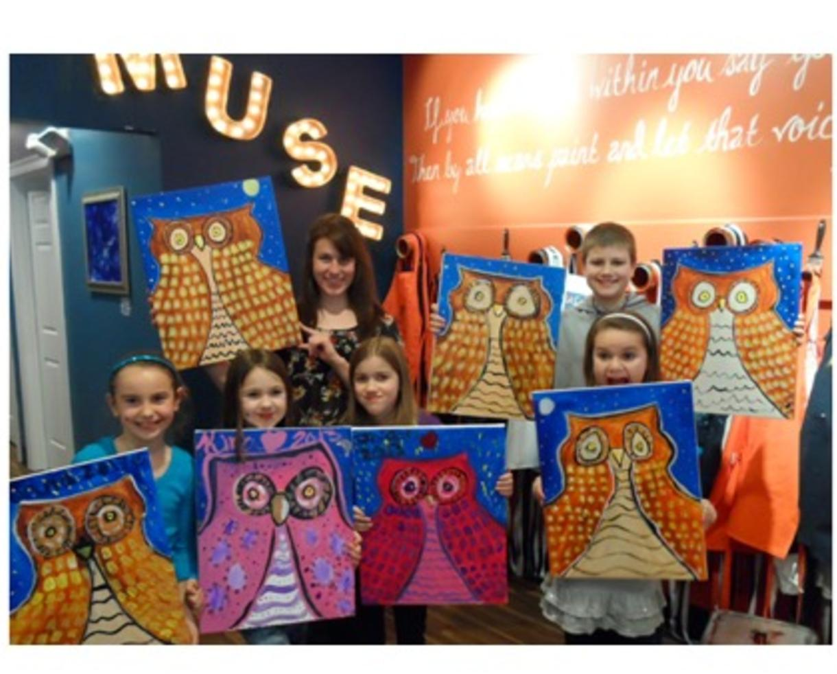 Deal 250 For Painting Party For Up To 10 People At The