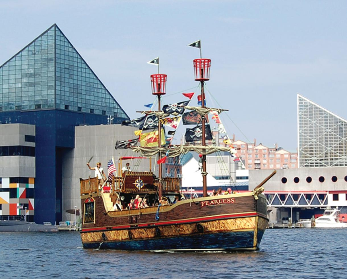$60 for Urban Pirates Family 4-Pack Adventure Ticket - Inner Harbor (40% Off)