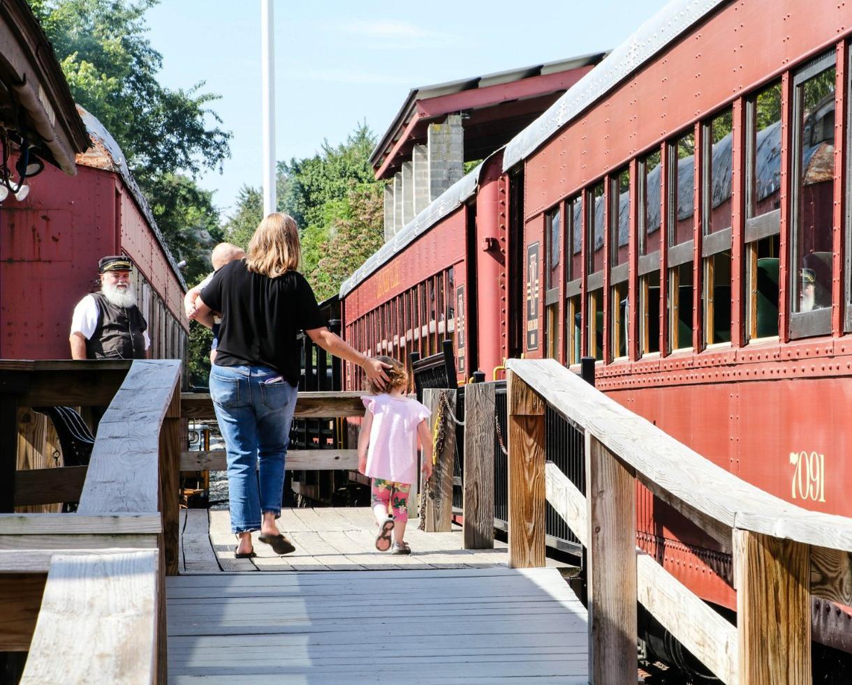 Walkersville Southern Railroad Excursion Train Ride