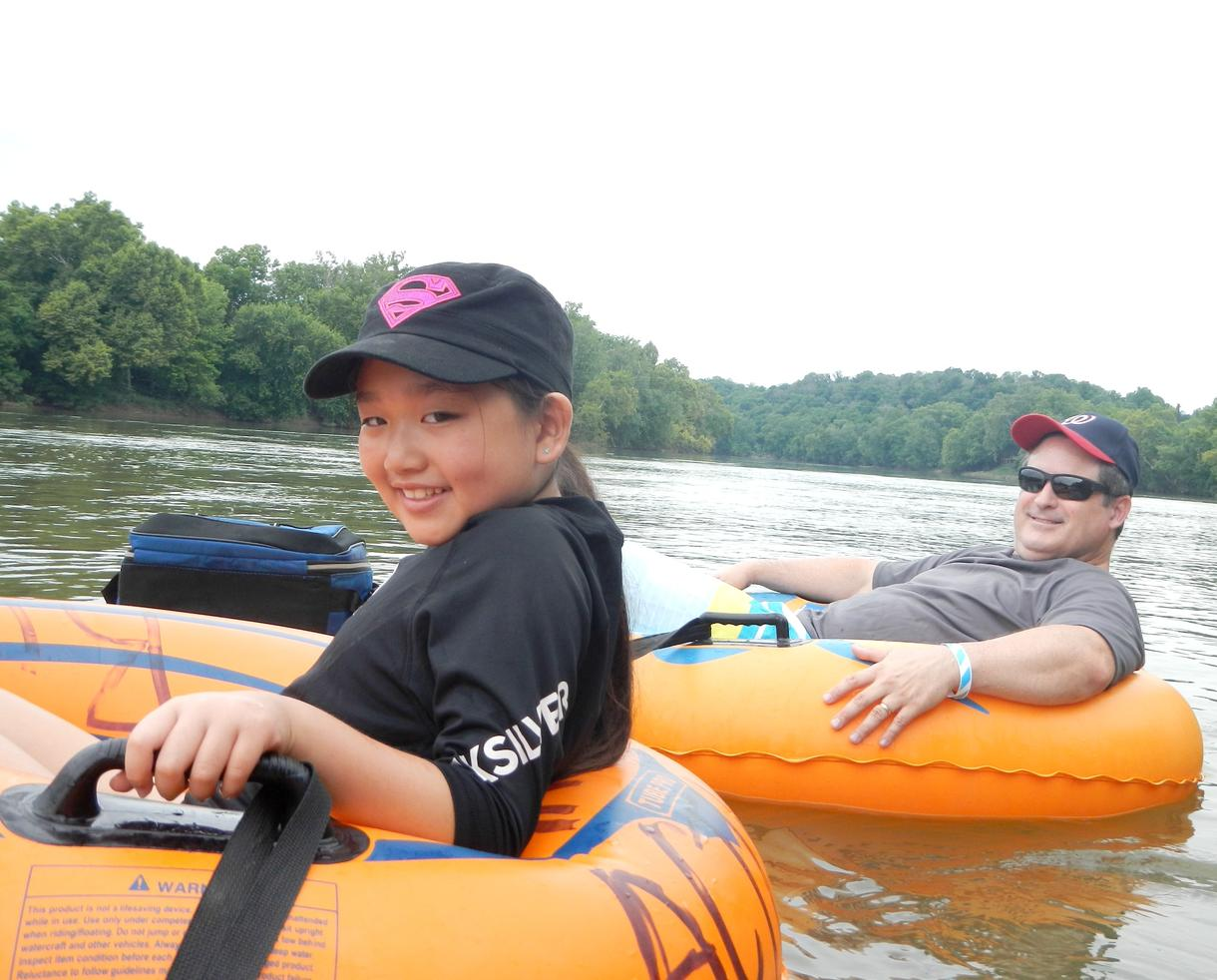 River Active at Watermelon Park Family River Tubing Adventure