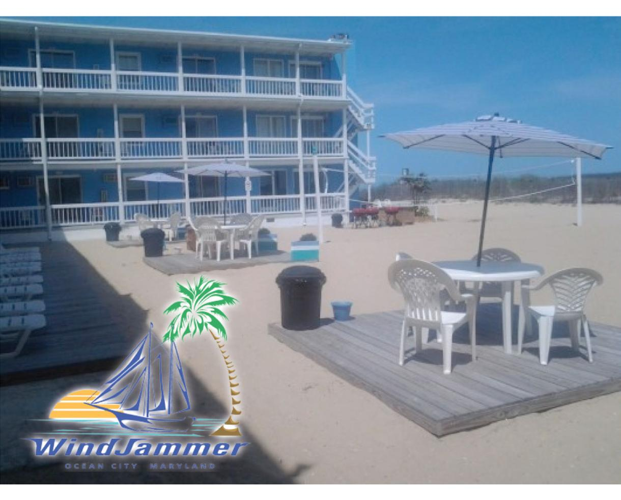 $211+ for 2-Night Stay at the Windjammer Condominiums - Ocean City Condos Right on the Beach! (Up to 32% Off)