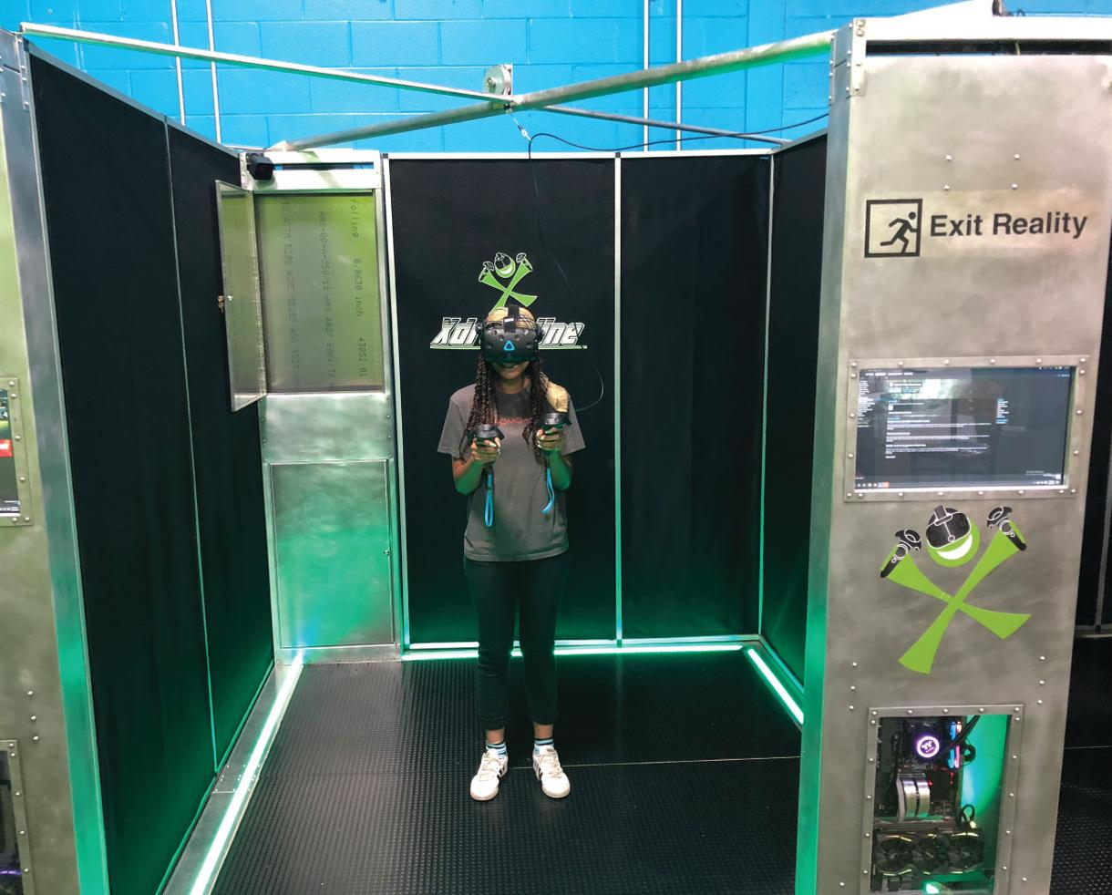 Xdrenaline 10 Minute Virtual Reality Experience, One-Hour All Access Pass + Jump Socks