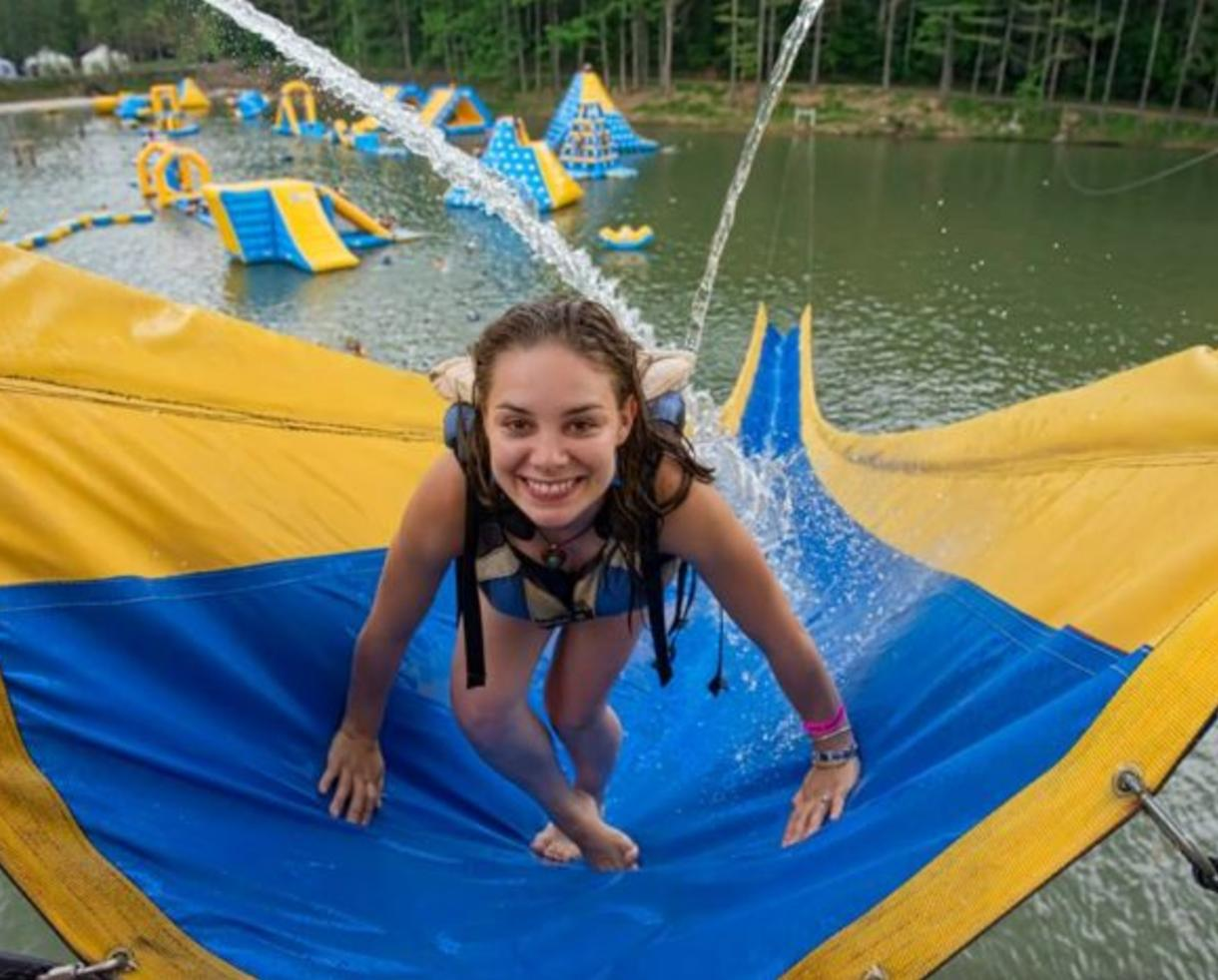 Child Admission for ACE Adventure Resort: 2-Night Kid-Friendly White Water Rafting, Camping & Wonderland Waterpark Pass