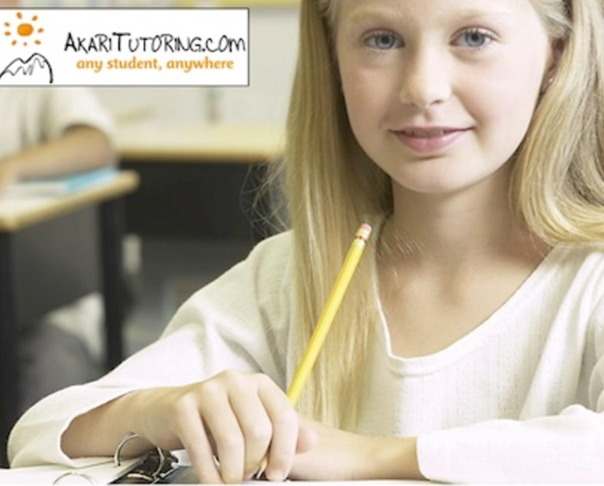 $99 for FIVE Private Tutoring Sessions at Your Location + Full Assessment from Akari Tutoring (44% Off)