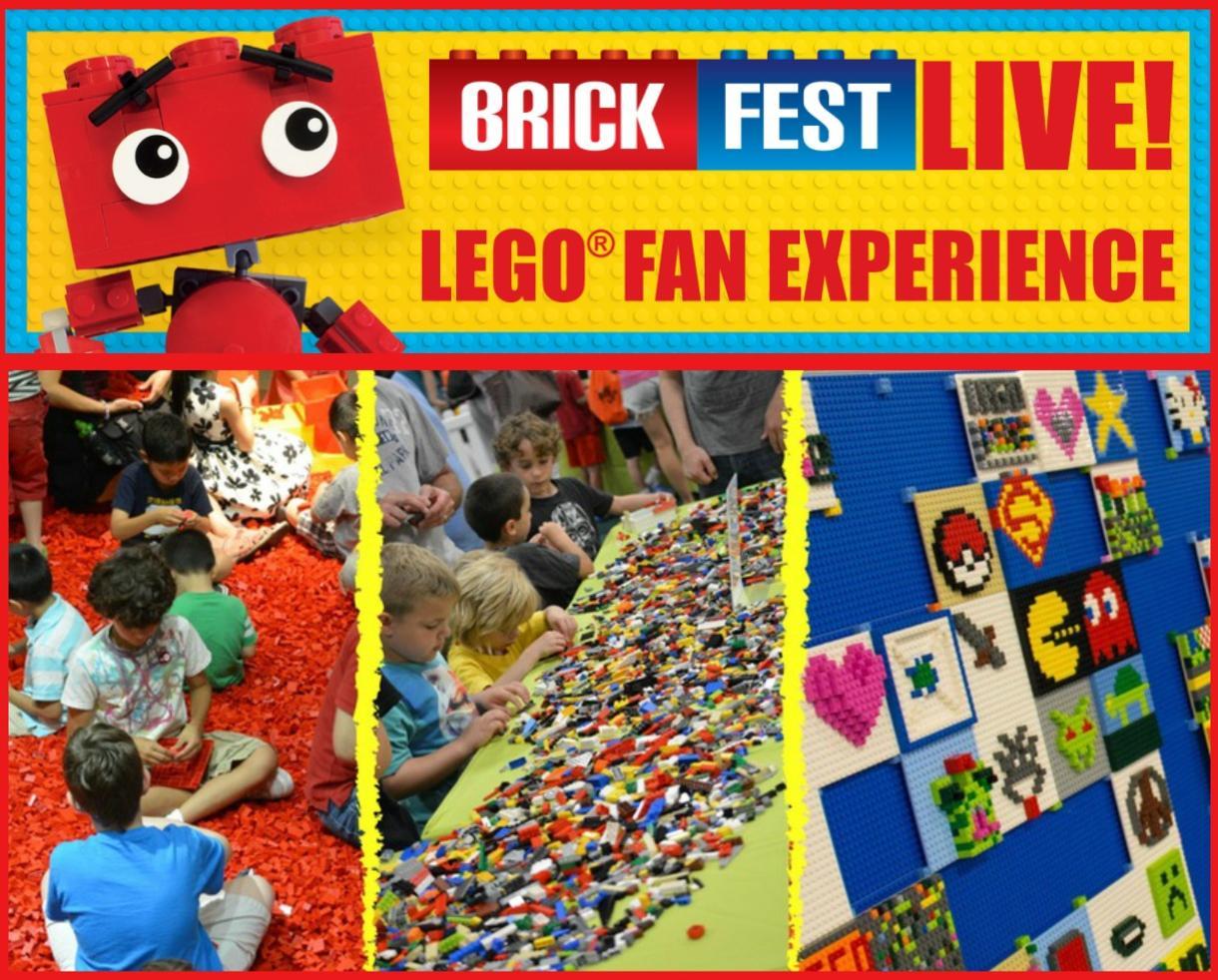$18.50+ for Brick Fest Live LEGO Fan Experience Ticket - Feb. 25th & 26th at Cobb Galleria Centre - Atlanta (25% Off)