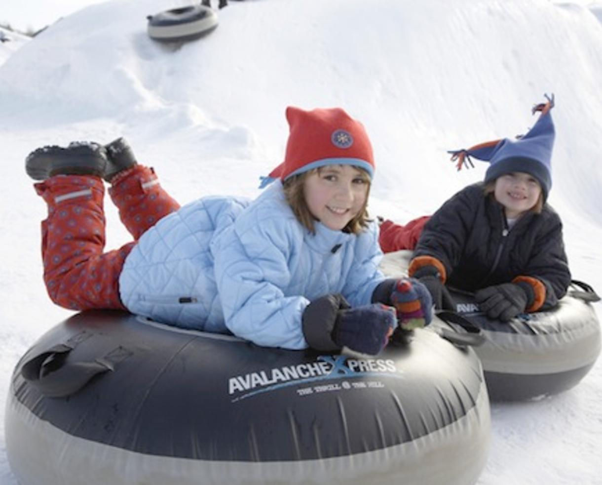 CertifiKid Exclusive! $160 Overnight Snow Tubing and Ice Skating Package for Four at Heritage Hills Resort's AvalancheXpress ($325 Value - 51% Off)