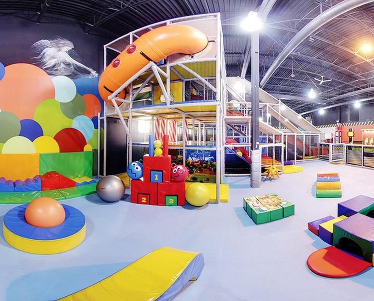 Indoor Play at Ball Factory Indoor Play & Cafe