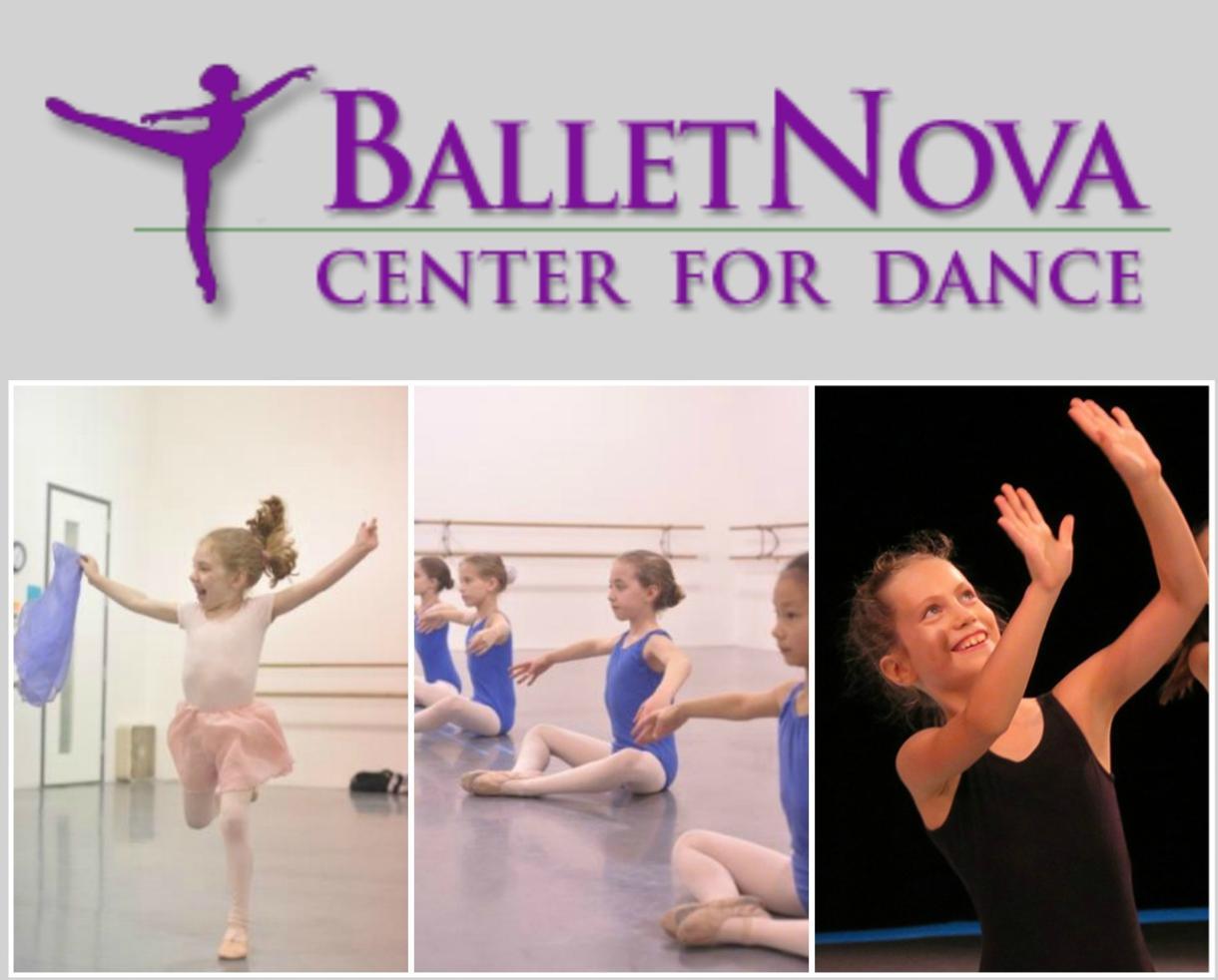 One Week of Half-Day BalletNova Young Children's Dance Camp