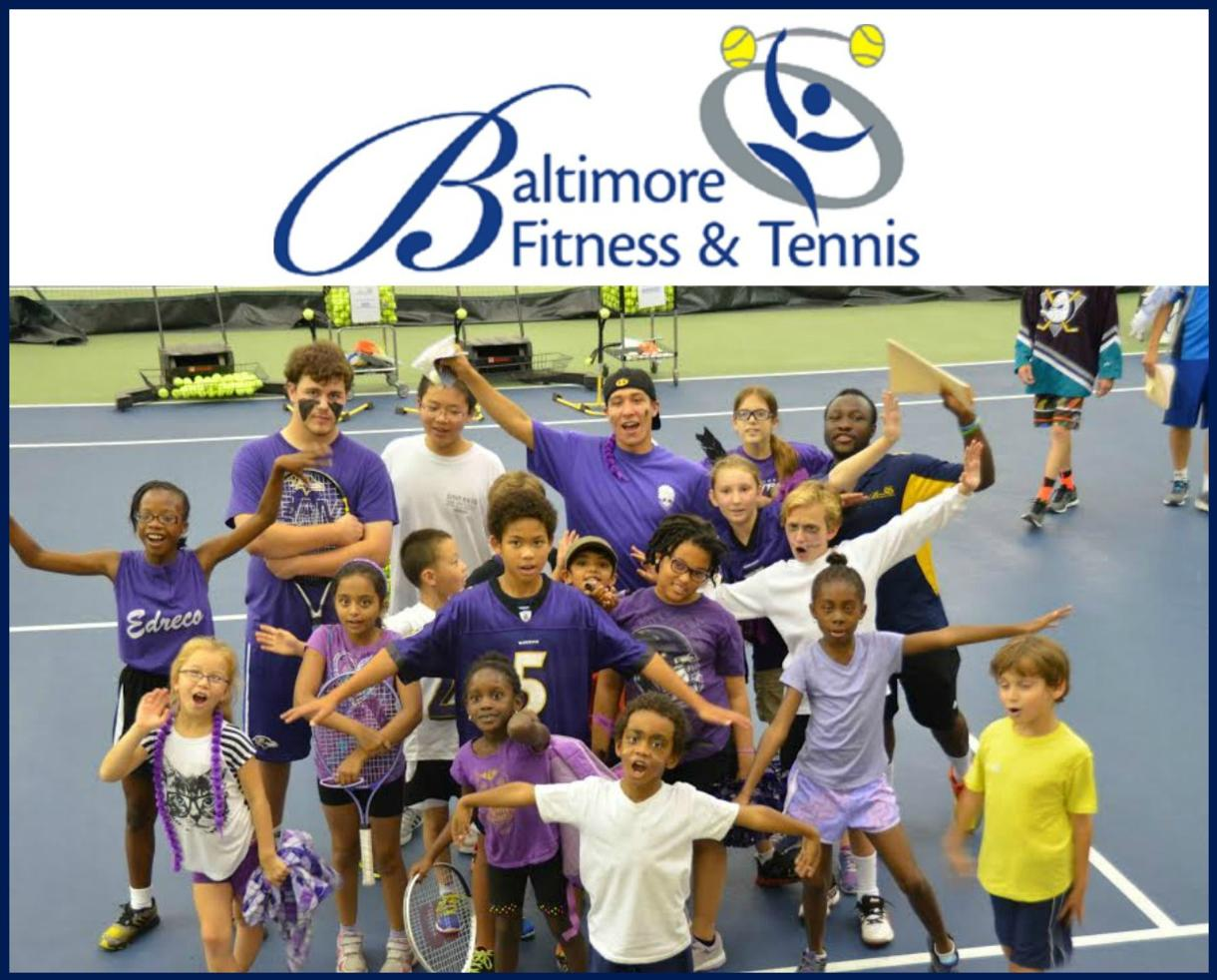 $212+ for Baltimore Fitness & Tennis Camp for Ages 5-16 in Pikesville - New Members Only (30% Off)