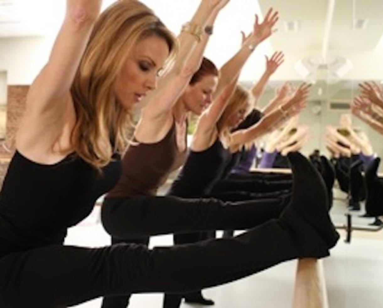 $42 for 3 Barre Fitness Classes at Go Figure Studio - Potomac (50% off)