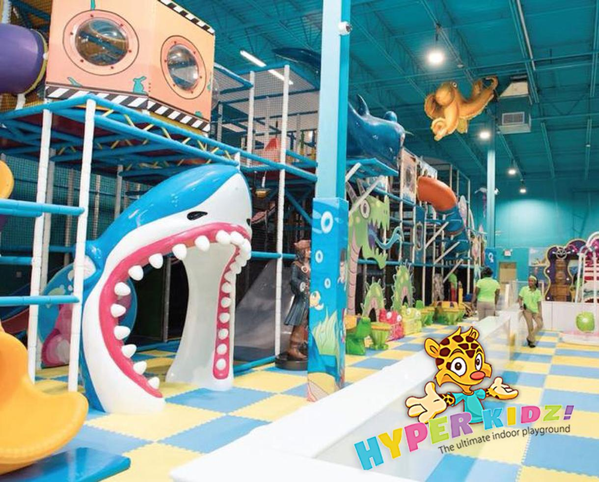 Hyper Kidz Indoor Playground 2-For-1 Admission