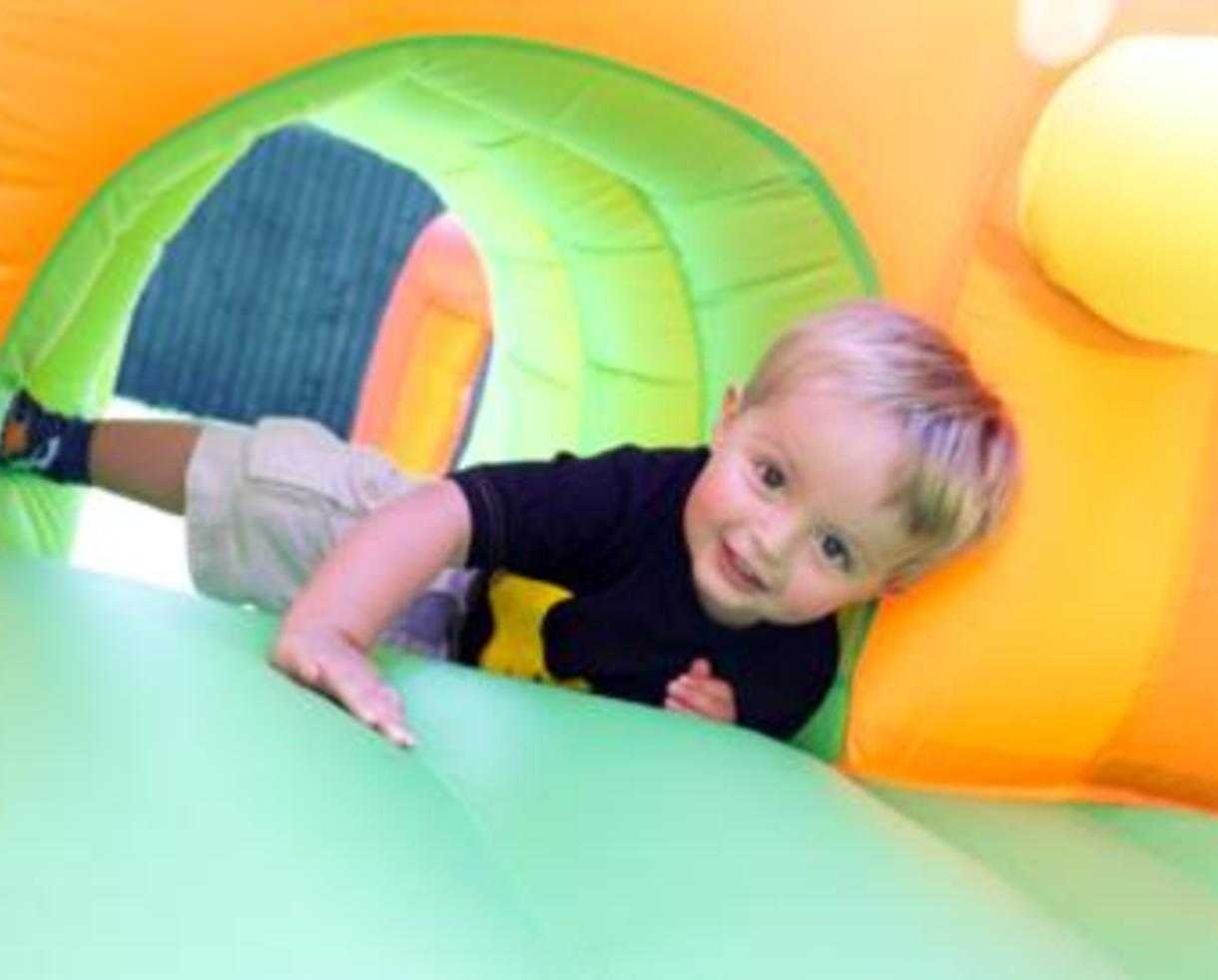 $137 for Six-Hour Moon Bounce + Popcorn Machine Rental ($300 value - 55% off)