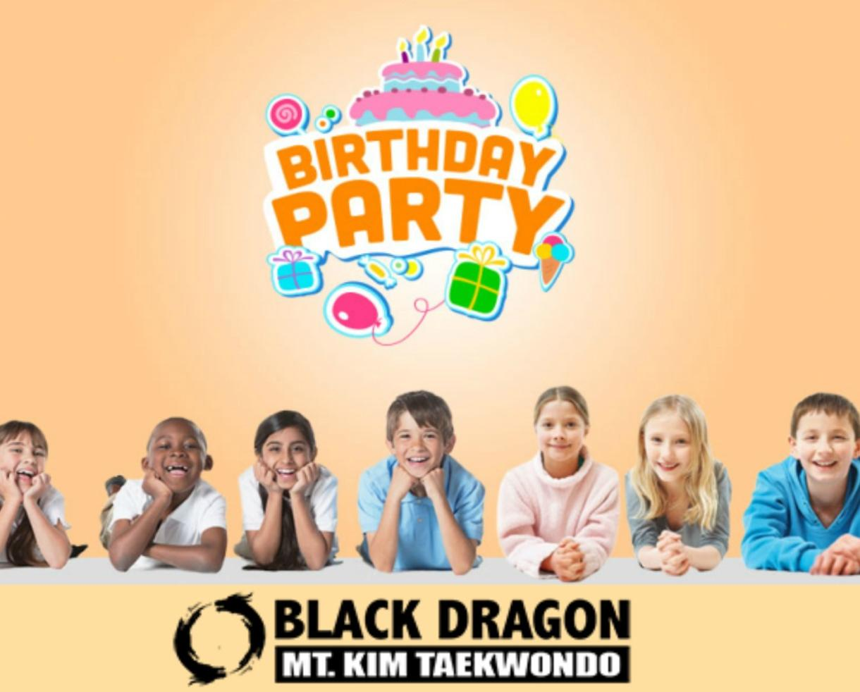 $99 for Taekwondo Birthday Party for up to 15 Kids at MT. Kim Black Dragon Martial Arts - Ages 4-13 - Gainesville/Haymarket (67% Off)